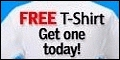 Grab your free t-shirt today... customize it, add your photo or you favorite saying - fast, easy and FREE!