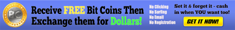 Join for free and then receive free bitcoins. Finally...exchange them for dollars. Hands off automated system!